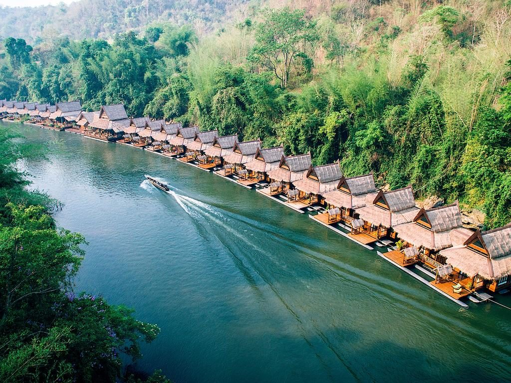 The Floathouse River Kwai Resort
